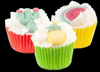Cosmétiques - Mini Cupcake Tropical Summer - Monoï - AUTOUR DU BAIN