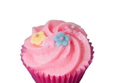 Cosmétiques - Mini Cupcake Cassis & Capucine  - AUTOUR DU BAIN