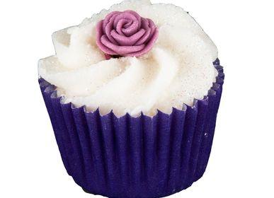 Cosmétiques - Mini Cupcake Rose Vintage  - AUTOUR DU BAIN