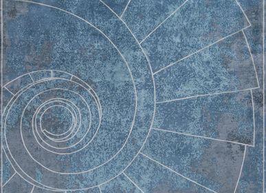 Tapis - Venezia Celeste Tapis Géométrique de Luxe - TAPIS ROUGE