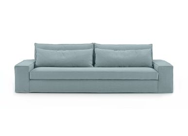 Design objects - Composable sofa Cocoon blue grey - SOFAREV