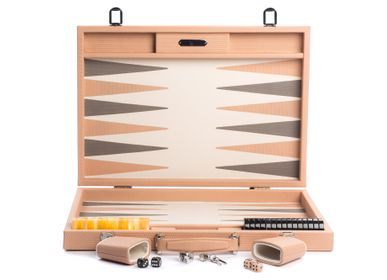Leather goods - Backgammon competition I Couture Leather - HECTOR SAXE PARIS DEPUIS 1978