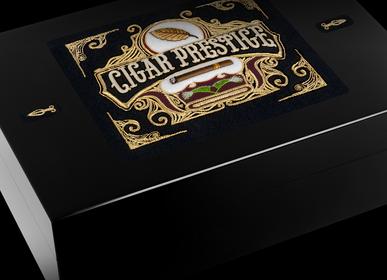 Objets personnalisables - Cave à cigares CUBA INTENSE - FIL-HARMONY