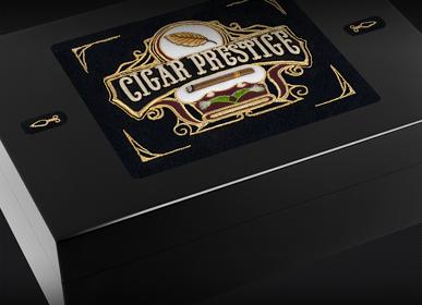 Objets personnalisables - Cave à cigares CUBA - FIL-HARMONY