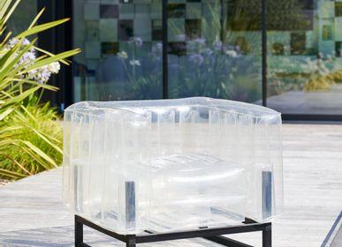 Lawn armchairs - YOMI EKO CRYSTAL ARMCHAIR - MOJOW