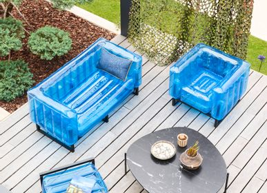 Sofas - YOMI EKO CANAPE blue - MOJOW