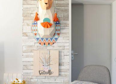 Objets de décoration - Décoration en papier - Trophée Lama  - AGENT PAPER