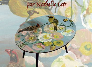 Tables basses - TABLES DECOREES NATHALIE LETE - BAZARTHERAPY EDITION