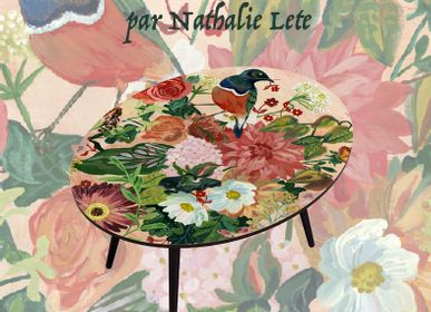 Coffee tables - DECORATED TABLES BY NATHALIE LETE - BAZARTHERAPY EDITION