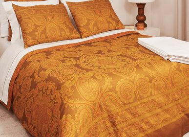 Bed linens - Baroque - 600 TC Jacquard Weave Duvet Cover and Sheet Set - VIDDA ROYALLE