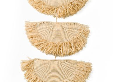 Decorative objects - Natural Raffia Parade Mobile - ALL ACROSS AFRICA + KAZI