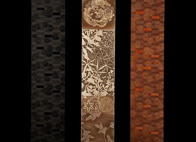 Autres décorations murales - Woodcut Artpanel  /  URUSHI KARAKAMI Artpanel - PRECIOUS KYOTO