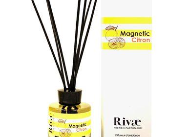 Diffuseurs de parfums - Magnetic Citron - Parfum d'intérieur Citron Fleur d'Oranger - RIVAE