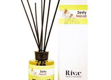 Diffuseurs de parfums - Zesty Neroli - Parfum d'intérieur Fleur d'Oranger Citron - RIVAE
