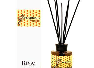 Diffuseurs de parfums - Voluptuous Vanille - Parfum d'intérieur Vanille Orange - RIVAE