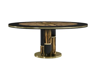 Dining Tables - EBONY Dining Table - MEMOIR ESSENCE