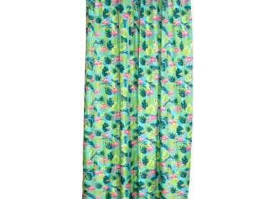 Shower curtains - Shower Curtain Flamingo - KITSCH KITCHEN