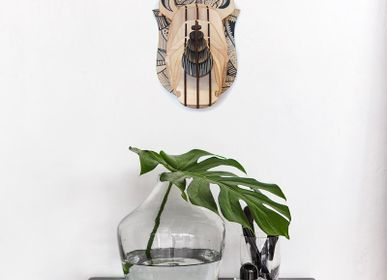 Decorative objects - Wooden Decoration - Rhinoceros Head - AGENT PAPER
