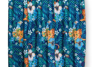 Shower curtains - Shower Curtain Tropical - KITSCH KITCHEN