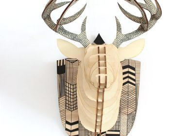 Decorative objects - Wooden Decoration - Deer Head - AGENT PAPER