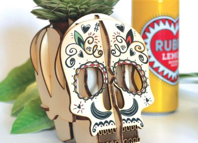 Decorative objects - Wooden decoration - Skull Calavera - AGENT PAPER