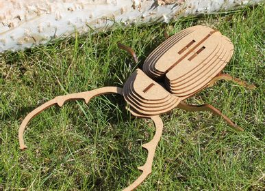 Decorative objects - Wooden Decoration - Insects  - AGENT PAPER
