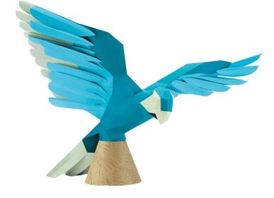 Decorative objects - Paper Decoration - Parrot Trophy  - AGENT PAPER