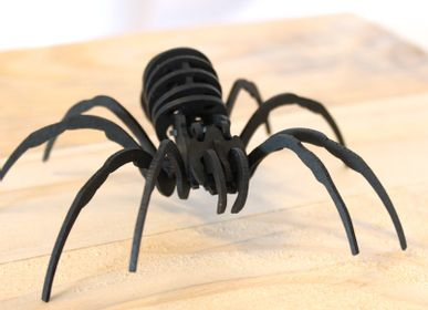 Decorative objects - Decorative Objects - Black Cardboard Insects - AGENT PAPER