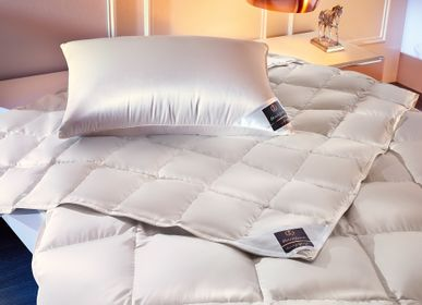 Comforters and pillows - ARCTIC Down Pillow - BRINKHAUS LUXURY LIFESTYLE