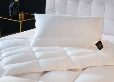 Comforters and pillows - CHATEAU Down Duvet - BRINKHAUS LUXURY LIFESTYLE