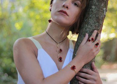 Jewelry - POPPIES SET RED - GEORGIA CHARAL ART JEWELERY