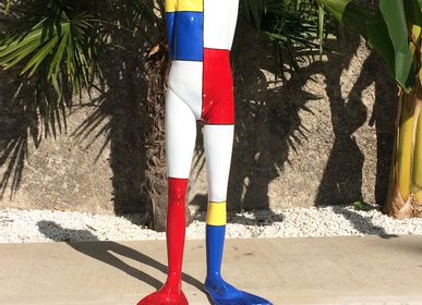 "Sculptures, statuettes and miniatures - Coline ""Mondrian"" - RONAYETTE MARIE-NOELLE"