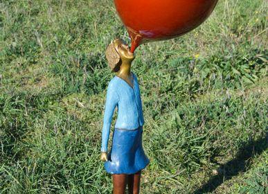 Sculptures, statuettes et miniatures - Sculpture «Fille dans le bal» - RONAYETTE MARIE-NOELLE