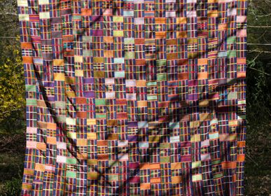 Objets de décoration - Pagne Ewe, Kente - AS'ART A SENSE OF CRAFTS