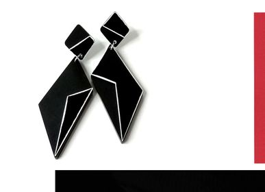 Bijoux - METROPOLIS collection, boucles d'oreilles - ALEX+SVET