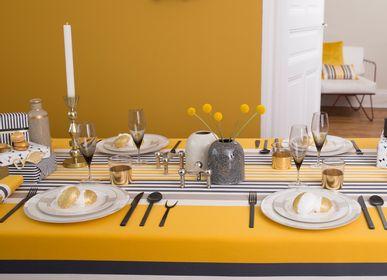 Linge de table textile - Nappe en coton Ainhoa Gold (plusieurs tailles disponibles) - LA MAISON JEAN-VIER