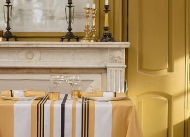 Table linen - Cotton tablecloth Donibane Laiton (several sizes available) - LA MAISON JEAN-VIER