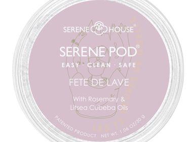 Parfums d'intérieur - Serene Pod no Spill Cire Pod-30G- Fete De Lave - SERENE HOUSE