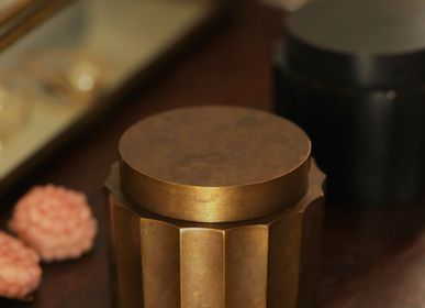 Design objects - GUSOKU - Hexadecagon - small brass container - NOUSAKU