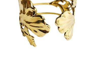 Jewelry - Manchette double Gingko gold - LOTTA DJOSSOU
