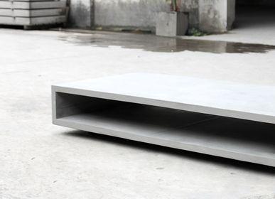 Other tables - monobloc - concrete tv bench - LYON BÉTON