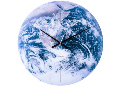 Clocks - Wall Clock Earth - KARLSSON