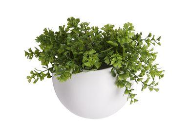 Ceramic - Wall Plant Pot Globe - PRESENT TIME