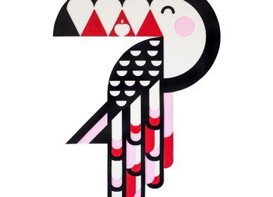 Autres décorations murales - TUCA toucan // décoration murale tactile - MINI ART FOR KIDS