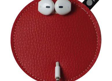 Cadeaux - Pochette range-cordon anti-noeuds Rouge - OFYL