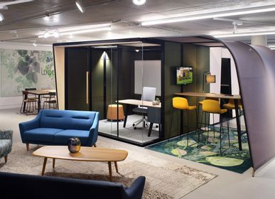 Office design and planning - Campers & Dens Pod - STEELCASE