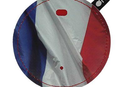Cadeaux - Pochette range-cordon anti-noeuds Drapeau français - OFYL