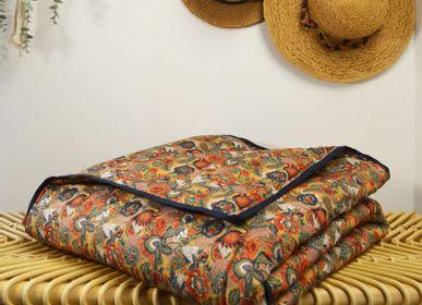 Couettes et oreillers - Couverture en coton oeko tex 150x150cm - MAISON VELVETY