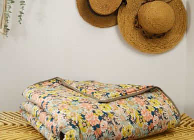 Linge de lit - Couverture en coton oeko tex 140x140cm - MAISON VELVETY