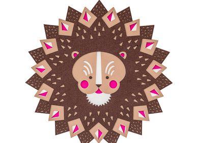 Autres décorations murales - Lion QUEEN // wall decoration - MINI ART FOR KIDS